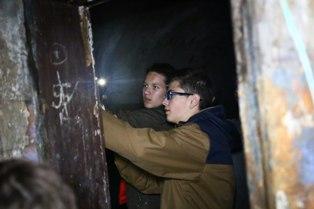В казематах форта Красная Горка