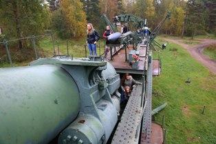 Военный бронепоезд транспортер