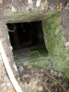 Линия Маннергейма, вход в затопленный туннель