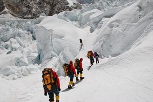 Эверест идём