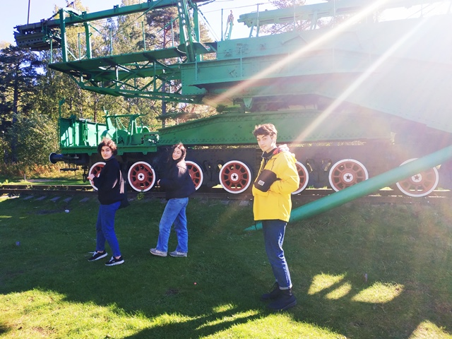 Школьная экскурсия на форт Красная Горка