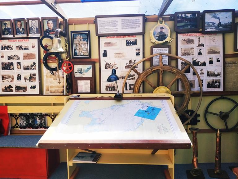Музей Порт Копсала: всегда в идеальном состоянии. Даже хочется разуться перед тем как войти туда.