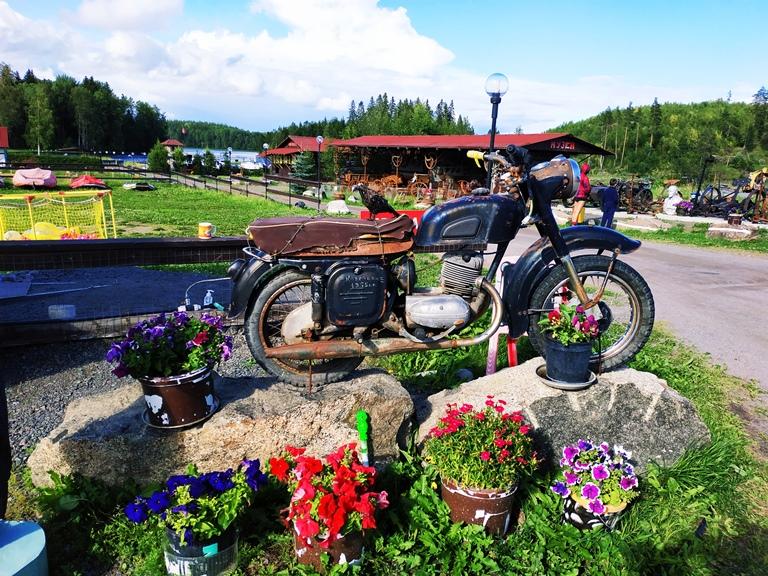 Мотоциклы в музее Воронов Форпост